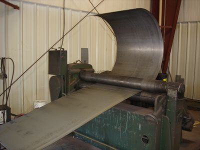 Wood Furnace - Plate Roll